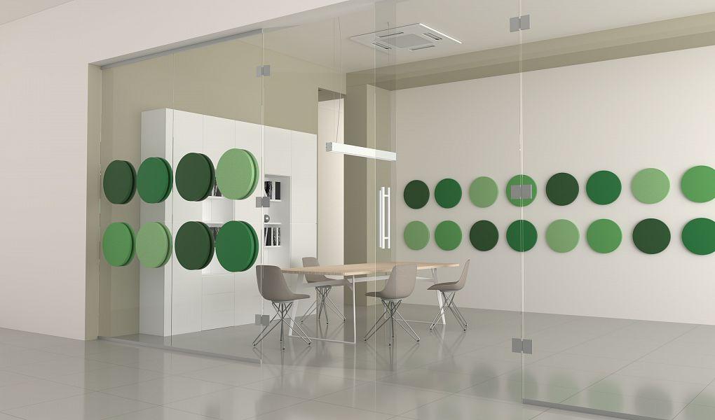 FLUFFO GLASS – glass surface panels