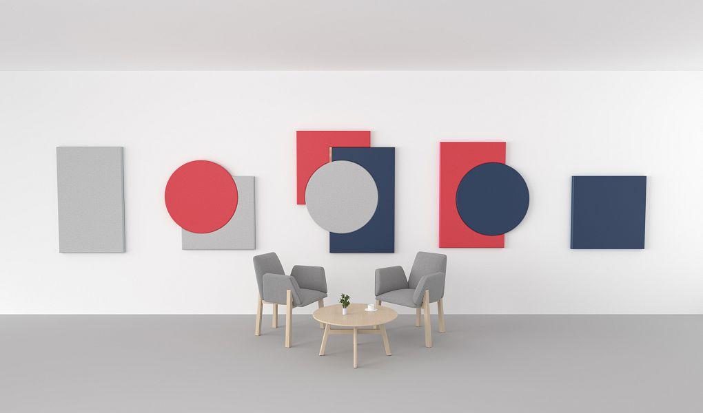 FLUFFO ART – large-format wall panels